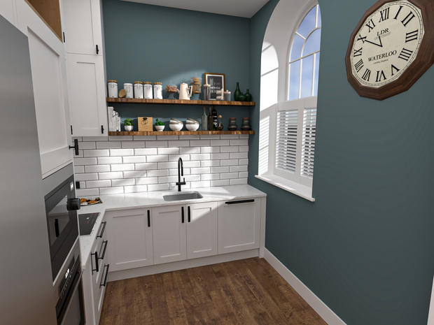 KITCHEN/DINING RENDERS