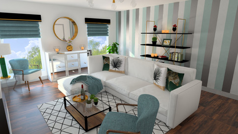 Living Room Day Render (Gold Package)