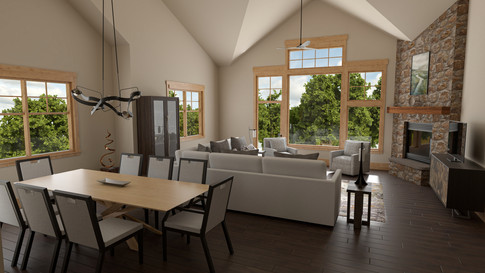 Living/Dining Room (Gold Package)