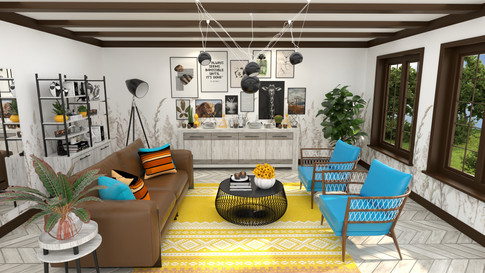 Living Room (Gold Package)