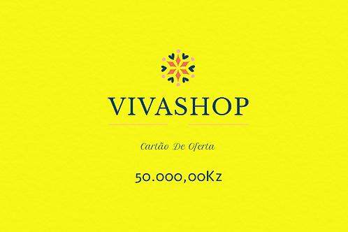 Cartão de Oferta VIVASHOP 50.000,00Kz