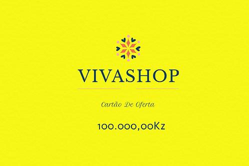 Cartão de Oferta VIVASHOP 100.000,00Kz