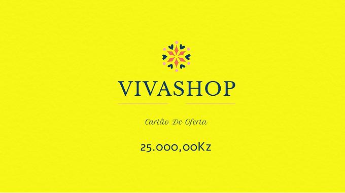 Cartão de Oferta VIVASHOP 25.000,00Kz
