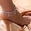 Thumbnail: Pulseira tornozeleira com simbolo de dólar