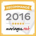 Patsy dj recommandé par mariages.net depuis 2014