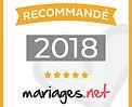 Patsby dj recommandé par mariages.net en 2018 pour la 4eme année consécutive