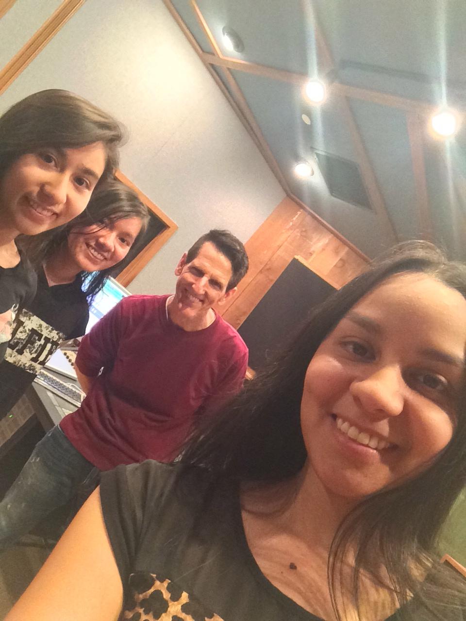 In the studio :)