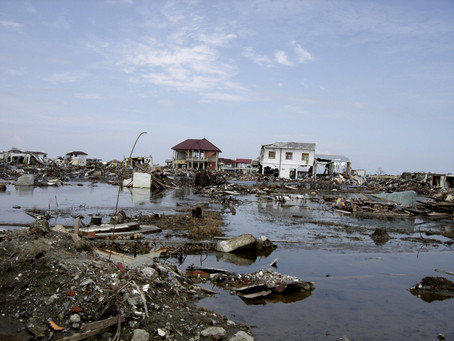 寄付実績① インドネシア地震-1