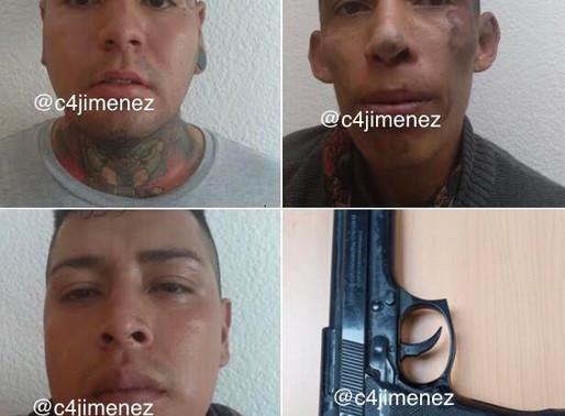 Colombiano y mexicanos decían ser del CJNG para extorsionar