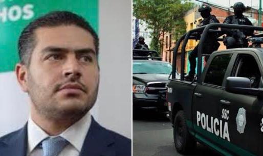 Omar García Harfuch está de regreso