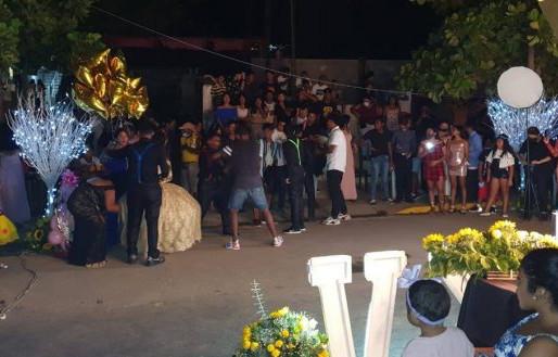 Cierran en Acapulco fiesta con más de 300 invitados