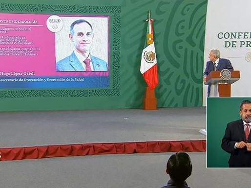 No hay funcionario en el mundo como López-Gatell: AMLO