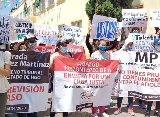 Exigen justicia por feminicidio de Mariana Zavala