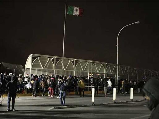 México a Biden programa  cooperación sobre migración