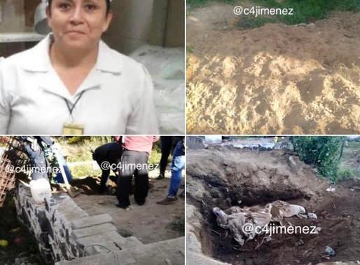 Encuentran sepultada en su casa, a enfermera desparecida
