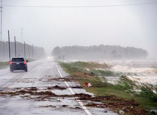 El huracán Sally amenaza con una histórica lluvia