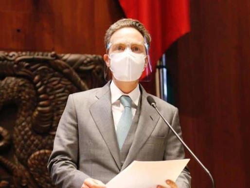 El senador Manuel Velasco, da positivo a Covid-19
