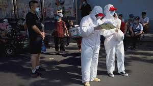 China inicia cuarentena en Pekín por Re-brote de covid-19