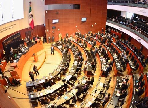 Pese a rebrote de Covid, el Senado sesionará por Ley de Ingresos