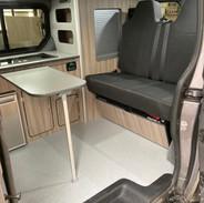 Renault Trafic Campervan Interior