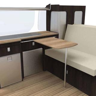 Trafic swb furniture