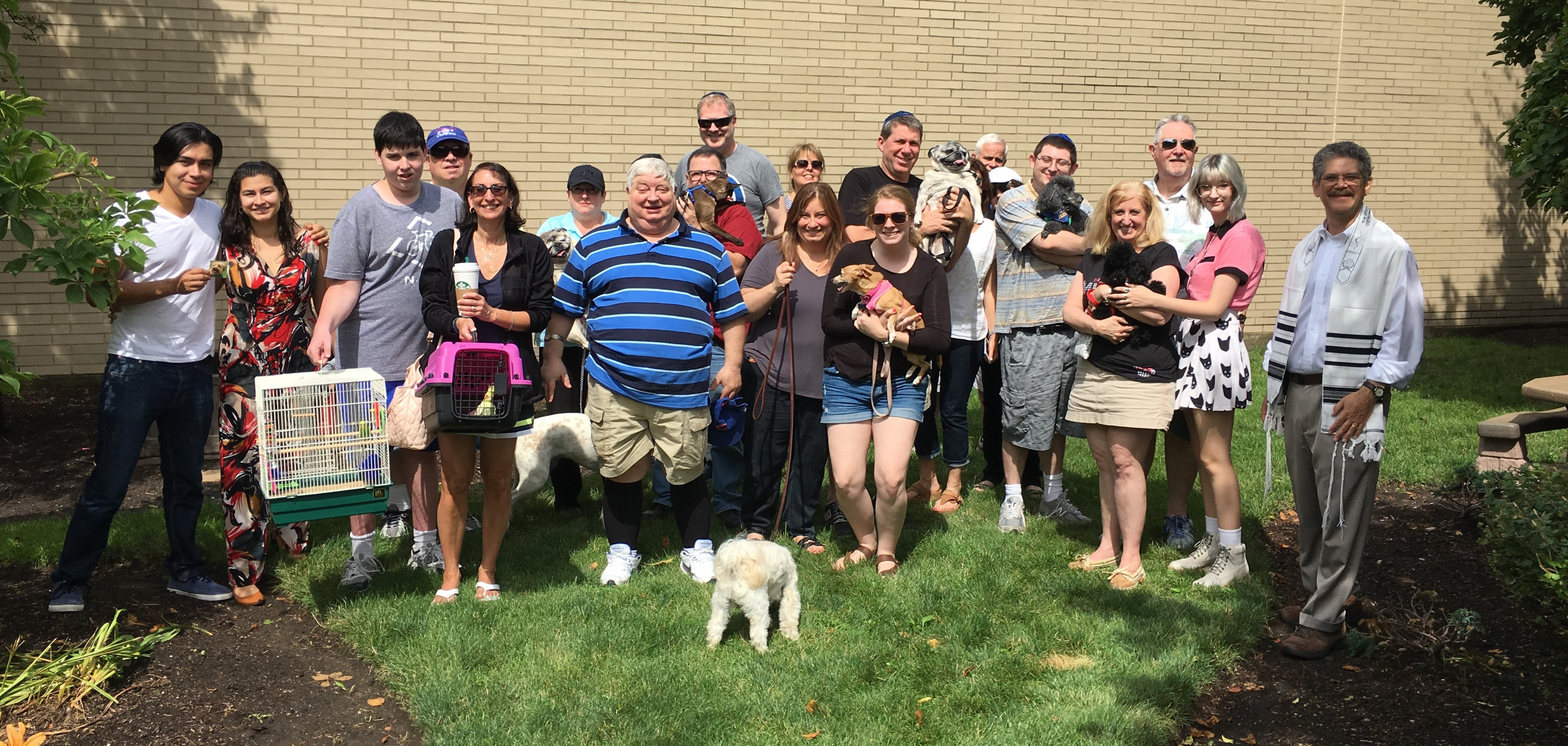 Group Photo from Noah's Bark 7-22-17