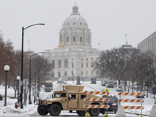 Jan. 19 - Security Surrounds the Capitol