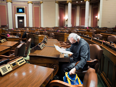 Special Session 6 - Rep. Lyndon Carlson Sr.  Makes History as He Retires
