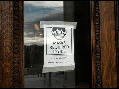 Art of the Capitol Masks Up