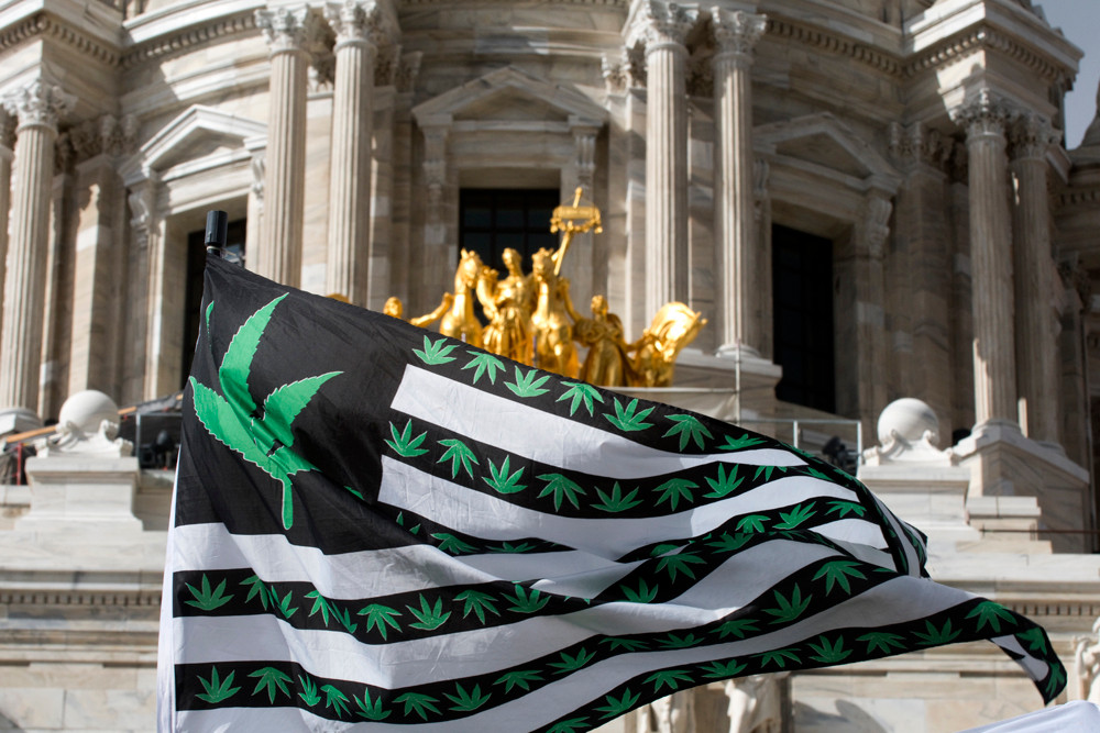 Minnesota NORML held their day at the Captiol calling for the legislature to take action to end cannabis prohibition in our state by supporting HF 926 and HF 927.