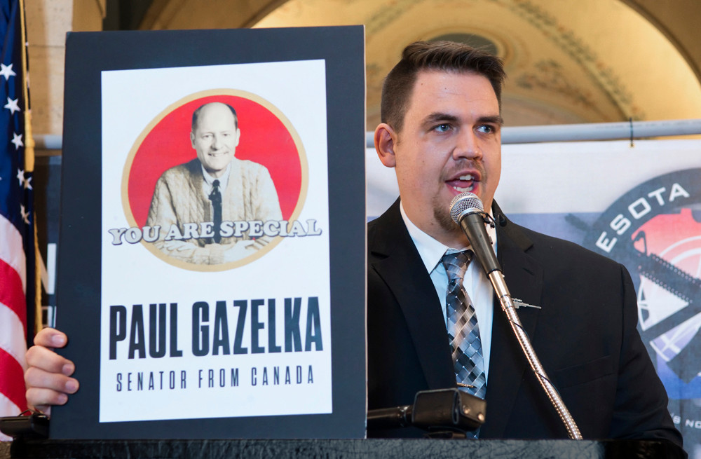Ben Dorr, political director of Minnesota Gun Rights, claims that Senate Majority Leader Paul Gazelka has turned his back on the organization by not putting pressure on his caucus members to oppose proposed red flag and background check legislation.