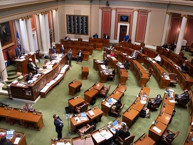 April 26 - Omnibus Bills Heard -  Capitol Concerns & Quiet