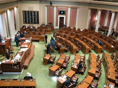 2021 Legislative Session - Opening Day