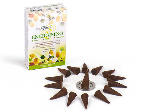 Energising Incense Cones - Small