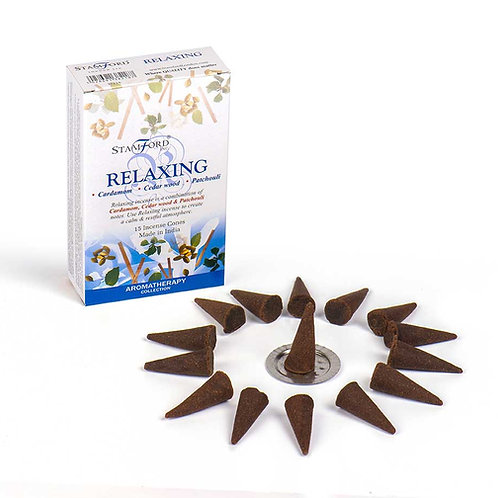 Relaxing Incense Cones - Small