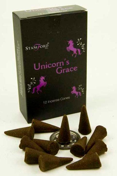 Unicorn's Grace Incense Cones - Small