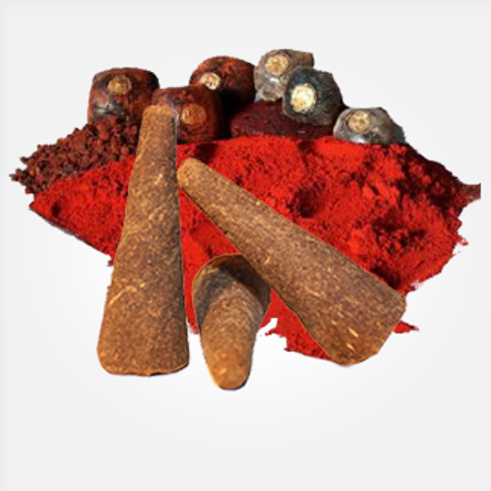 "Dragons Blood - Large 3"" Incense Cones"
