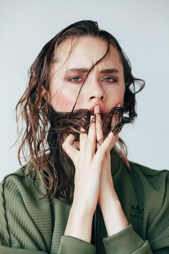 Hair + Makeup: Jessica Pineda / Photographer: Ashley Jo Wilson / Model:  Melanie Scully