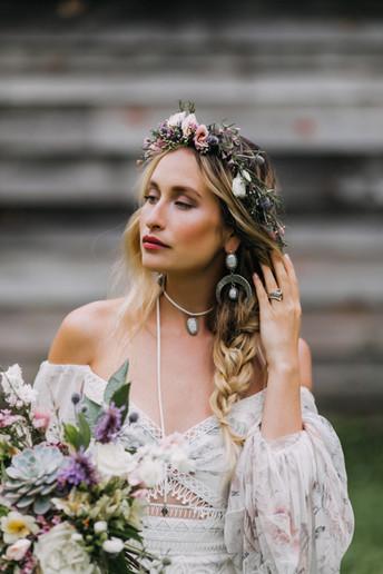 Bridal Shoot for Both Sides Bridal + Lovely Bride