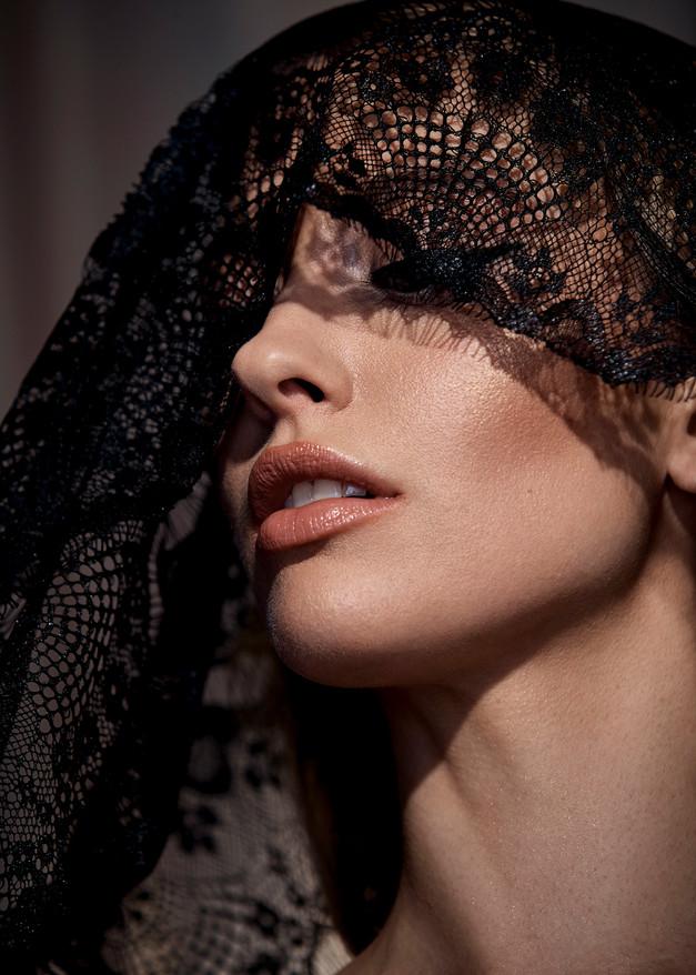 Hair + Makeup + Wardrobe Styling + Art Direction: Jessica Pineda / Photographer: Jon Pushnik / Model: Madeline Morgenweck