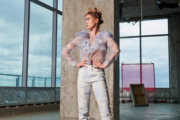 Hair + Makeup + Wardrobe Styling + Location + Art Direction: Jessica Pineda / Photographer: Ian Shiver/ Model: Phoebe