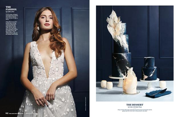 Philly Magazine Wedding Spread