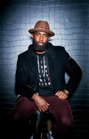 Eagles player Malcolm Jenkins for Philly Magazine