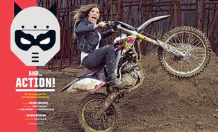 Motocross Champion Jolene Van Vugt for ESPN Magazine
