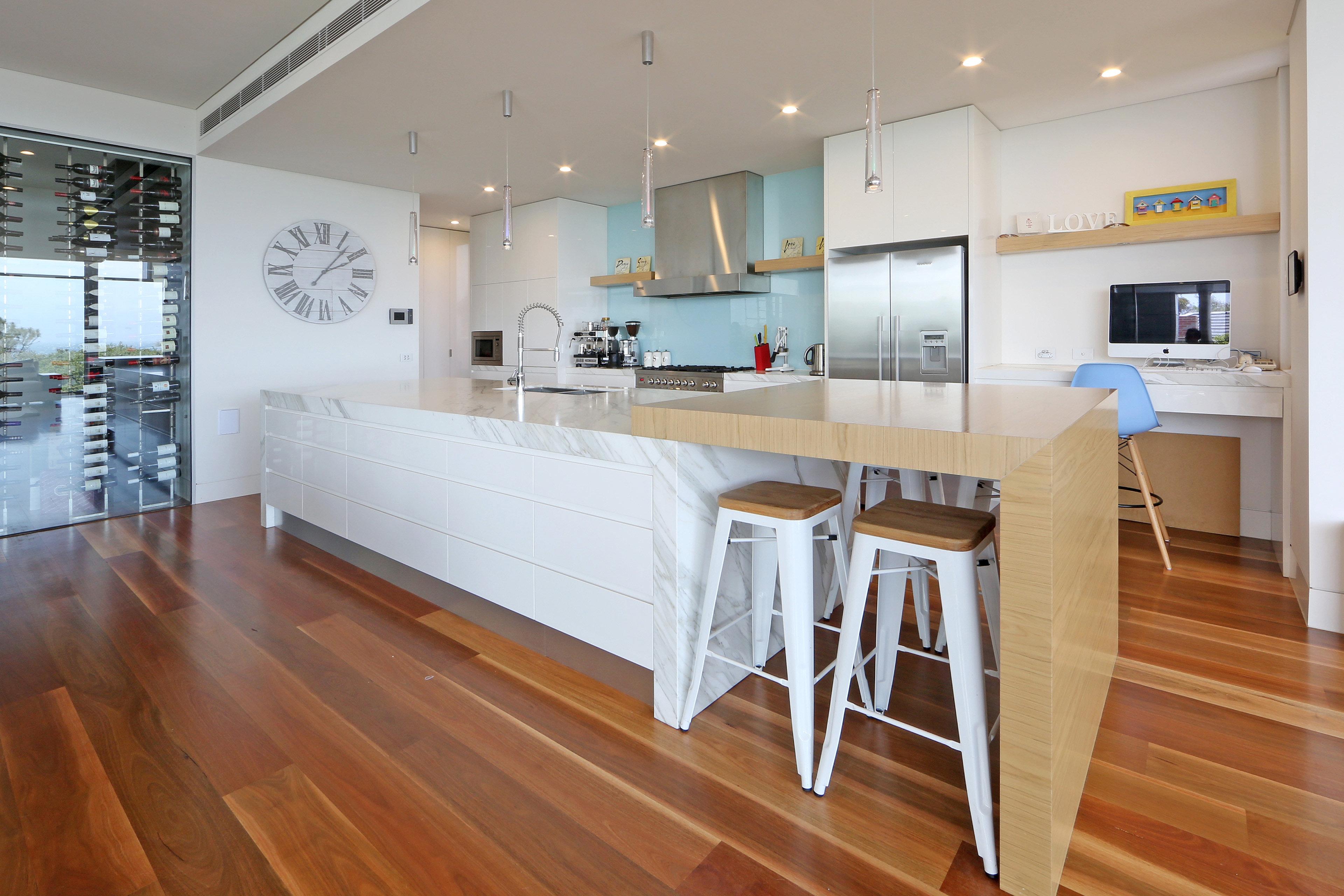 Dulux Natural White Kitchen
