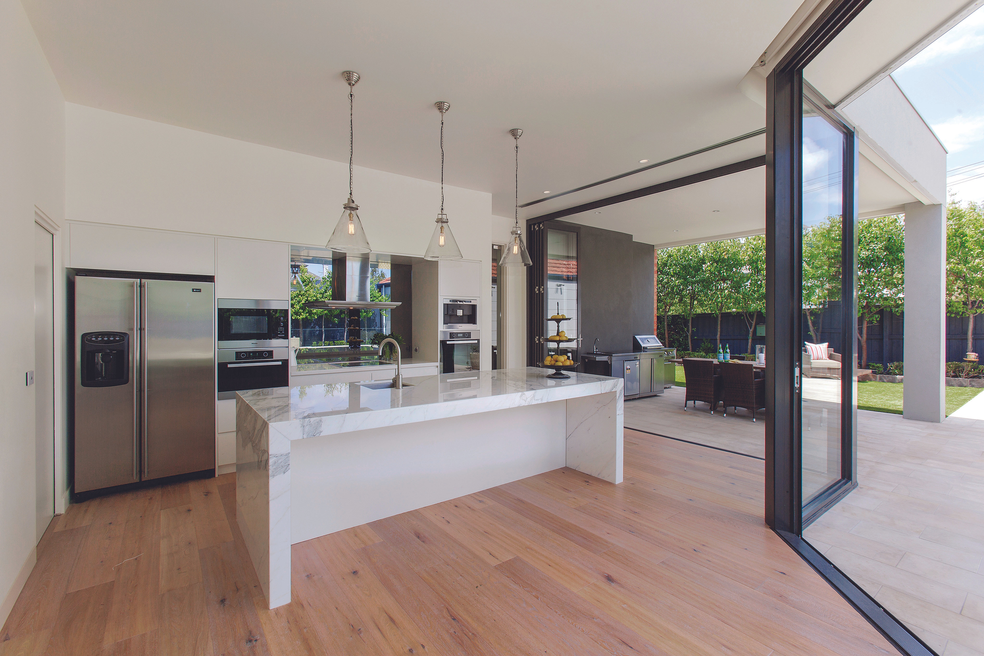 Melbourne Contemporary Kitchens Marble Kitchen Melbourne
