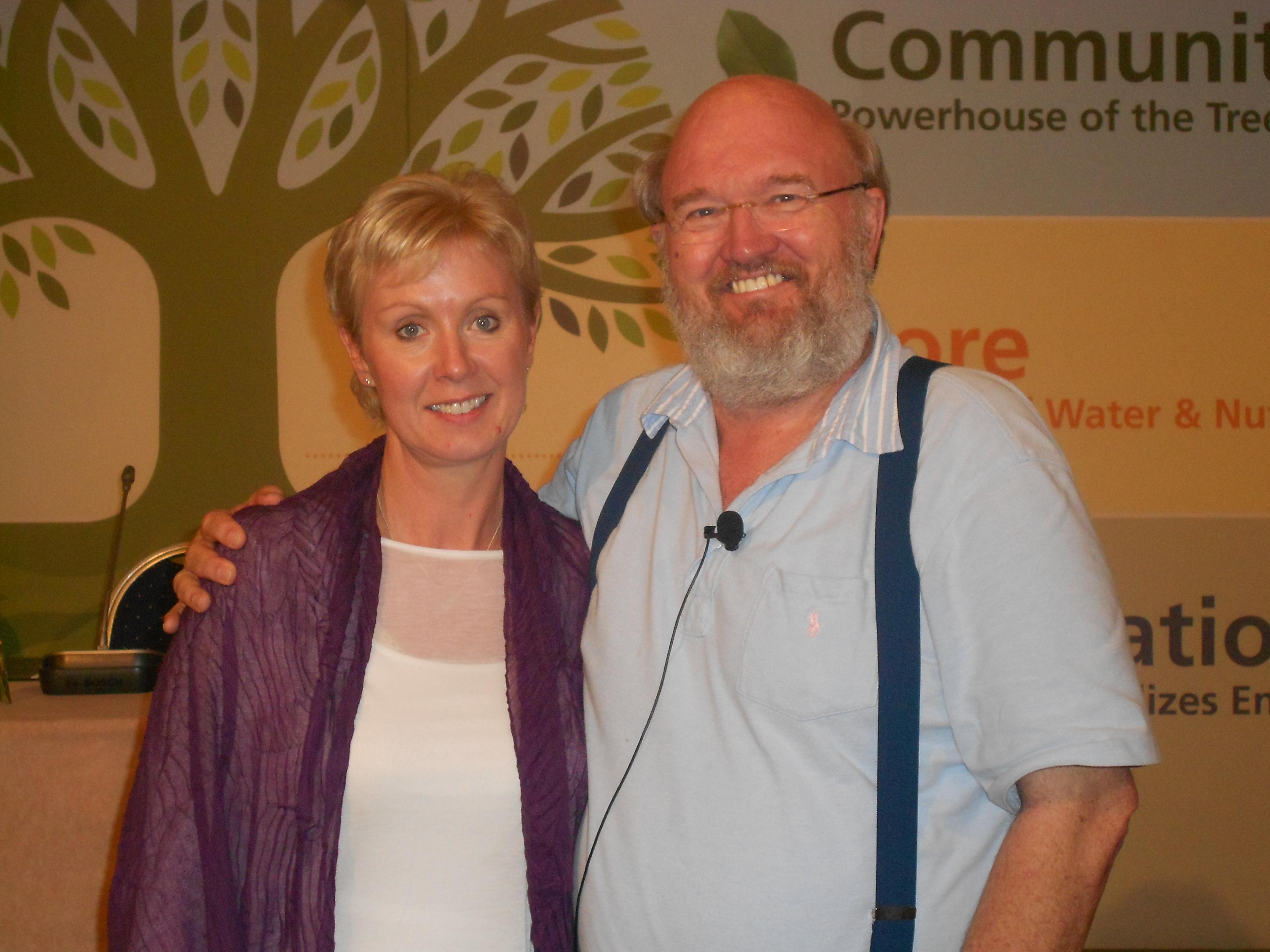 Dr. John Veltheim & Martina Fallon