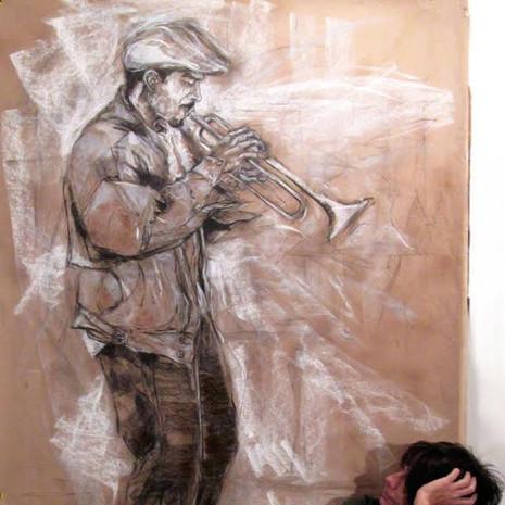 Street Musician - The Trumpet Player