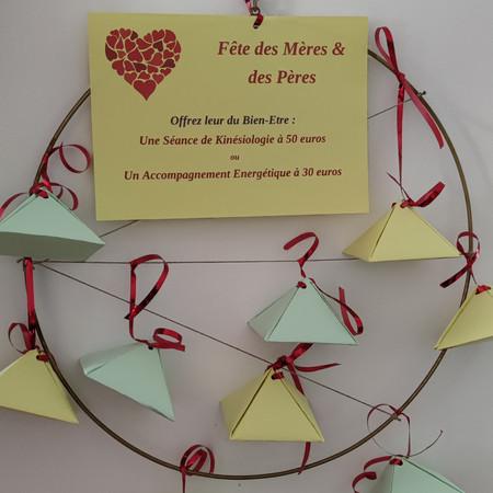 Un cadeau bien-être, un cadeau d'amour pour la Fête des Mères, des Pères