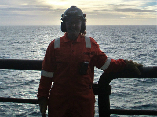 Working Offshore with Sarah Clark